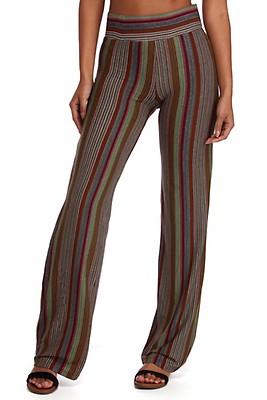 28a74d693 FINAL SALE- Trendy In Stripes Straight Leg Pants