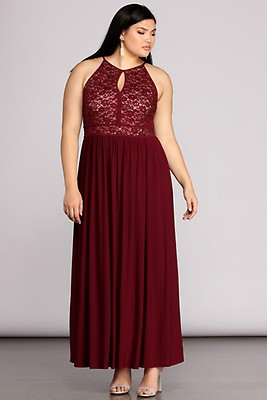 37f8728aabb Plus Nima Black Floral Sequin Dress