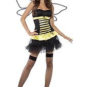 Sexig Humla   Kvinnlig insektskostym 84f843b4354c5
