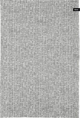 Finland 100/% LINEN dark gray Iittala kitchen towel Kastehelmi by Oiva Toikka