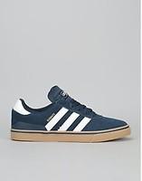 online store 52694 901f1 Adidas Busenitz Vulc ADV Skate Shoes - Collegiate Navy Ftwr White Gum