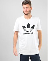 f3fc49aaf Adidas Clima 3.0 T-Shirt - White/Collegiate Royal/Tactile Yellow ...