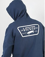b41303652ee Vans Full Patched Pullover Hoodie - Dress Blues