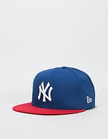 reputable site 55bea e19c0 New Era 9Fifty MLB New York Yankees Cotton Block Snapback Cap - Royal