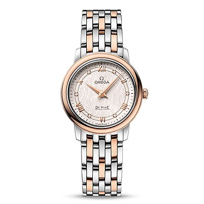 2d40c743be4e8 Omega De Ville Prestige Rose & Diamond Dewdrop 27.4mm Women's Watch