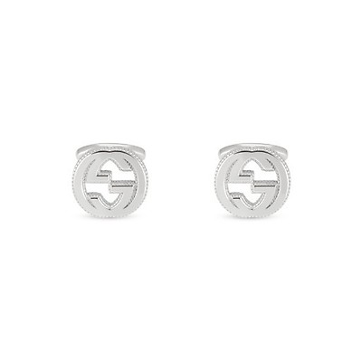 76fe82da0 Gucci Interlocking G Sterling Silver Cufflinks