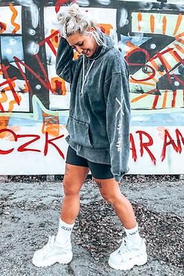75232c3644ad Jerseyklänning - Media Wash Black - Cheap Monday | madlady.se
