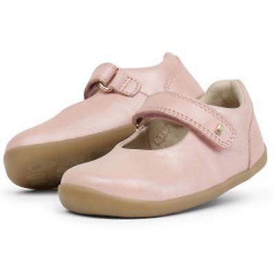 BiBeGoi Mary Jane Chaussures de danse pour b/éb/é fille avec n/œud et semelle antid/érapante
