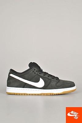 Nike Nike SB Air Max Janoski 2 Premium Sko BlackBlack Black Thunder Grey