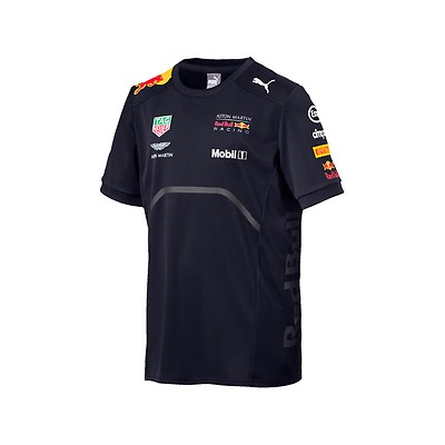 01e78c05a3f Kids Max Verstappen Flatbrim Cap Blue Aston Martin Red Bull Racing ...