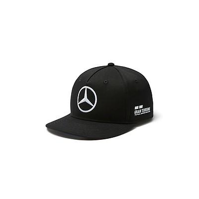 Lewis Hamilton Flatbrim Cap Black 2018 Mercedes-AMG Petronas Motorsport e64b33f3ae22