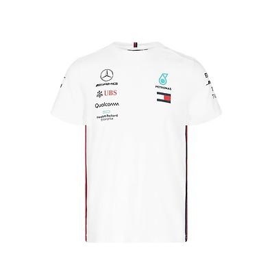 b91da9928 Mercedes-AMG Petronas Motorsport 2019 F1™ Team Polo Shirt White ...