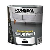 Ronseal 5 Litre Diamond Hard Floor Paint Slate Woodie S