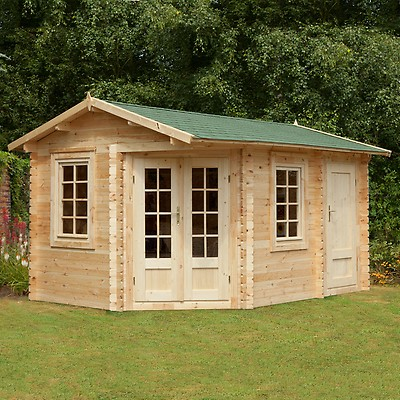 34mm Log Cabins Buy Sheds Direct