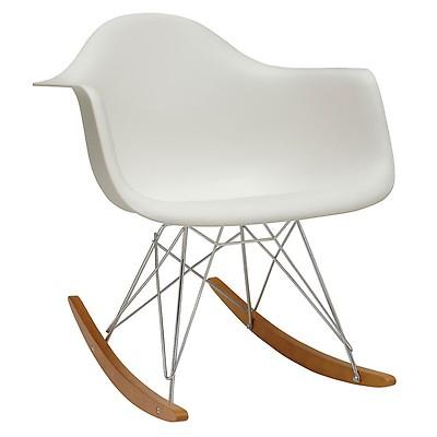 Chaise Bascule RAR Blanc