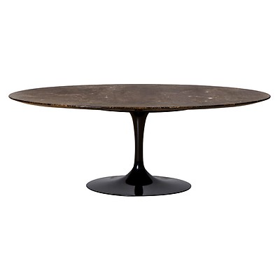 Table Ovale Marbre Arabescato 244cm Knoll The Conran Shop