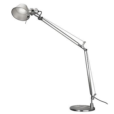 Attirant Lampe De Table Tolomeo Micro LED Aluminium   Artemide