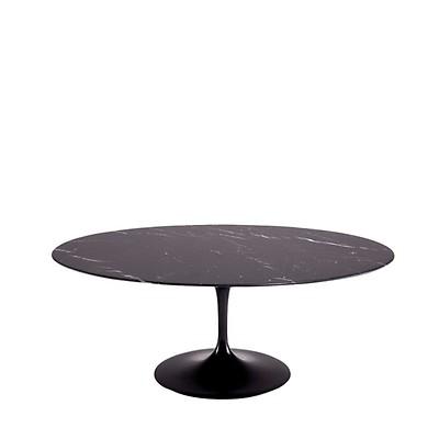 Table Ovale Marbre Arabescato 198cm Knoll Tables Meuble